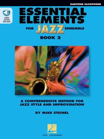 Essential Elements for Jazz Ensemble - Book 2 (Baritone Saxophone)