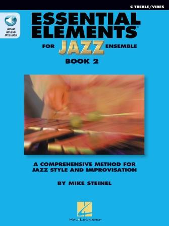 Essential Elements for Jazz Ensemble - Book 2 (C Treble/Vibes)