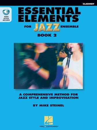 Essential Elements for Jazz Ensemble - Book 2 (Clarinet)