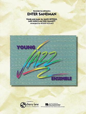 Enter Sandman (Jazz Ensemble - Score and Parts)
