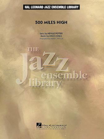 500 Miles High (Jazz Ensemble - Score and Parts)