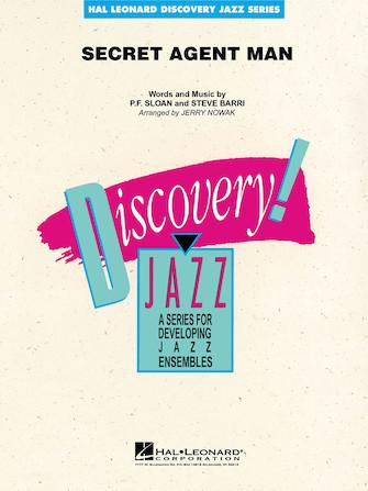 Secret Agent Man (Jazz Ensemble - Score and Parts)