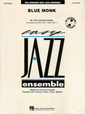 Blue Monk (Jazz Ensemble - Score and Parts)