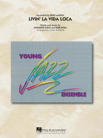 Livin' la Vida Loca (Jazz Ensemble - Score and Parts)