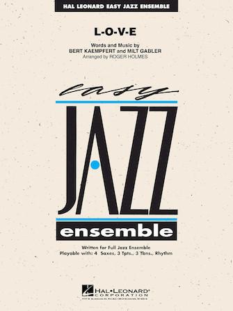 L-O-V-E (Jazz Ensemble - Score and Parts)