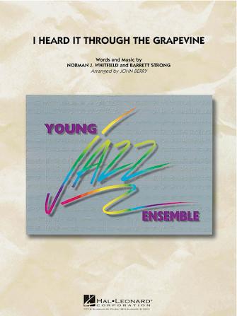 I Heard It Through the Grapevine (Jazz Ensemble - Score and Parts)