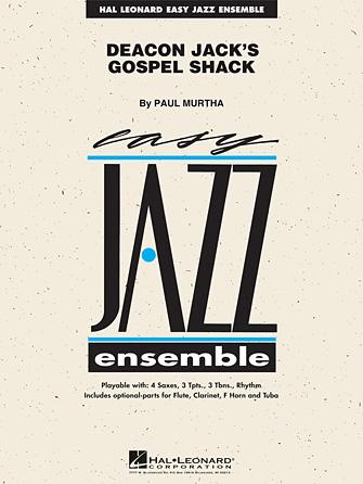 Deacon Jack's Gospel Shack (Jazz Ensemble - Score and Parts)