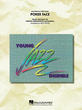 Poker Face (Jazz Ensemble - Score and Parts)