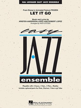 Let it Go (from Frozen) (Jazz Ensemble - Score and Parts)