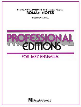 Roman Notes (Jazz Ensemble - Score and Parts)