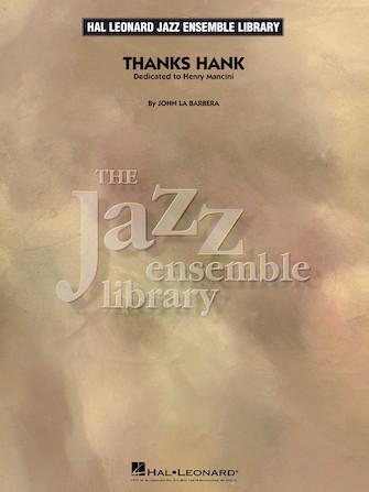Thanks Hank (Jazz Ensemble - Score and Parts)