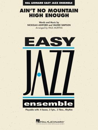Ain't No Mountain High Enough (Jazz Ensemble - Score and Parts)