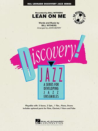 Lean on Me (Jazz Ensemble - Score and Parts)