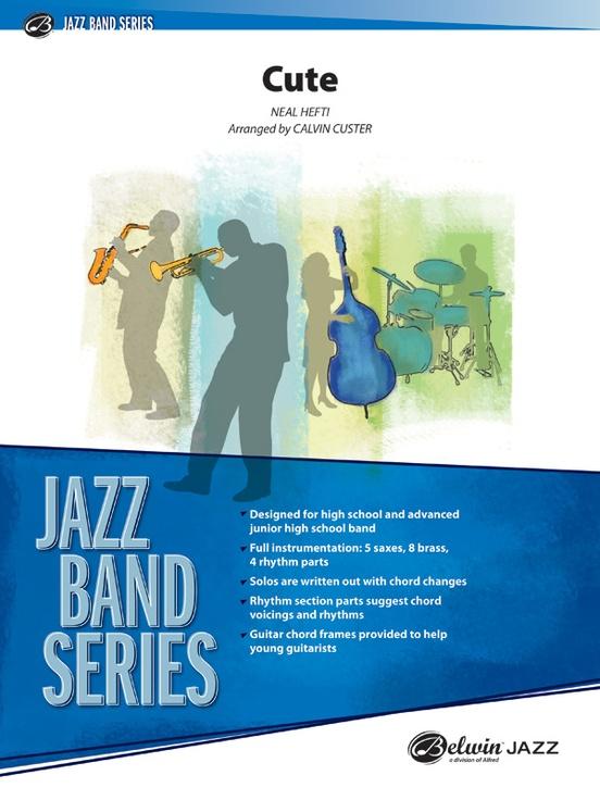 Cute (Jazz Ensemble - Score and Parts)