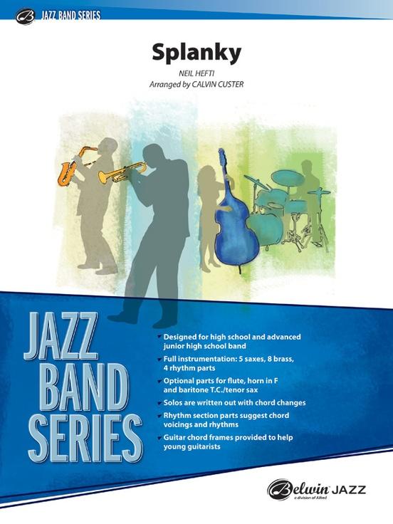 Splanky (Jazz Ensemble - Score and Parts)
