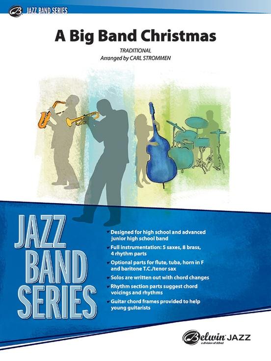 A Big Band Christmas (Jazz Ensemble - Score and Parts)