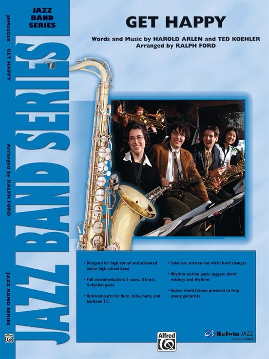 Get Happy (Jazz Ensemble - Score and Parts)