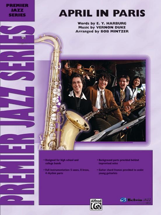 April in Paris (Jazz Ensemble - Score and Parts)