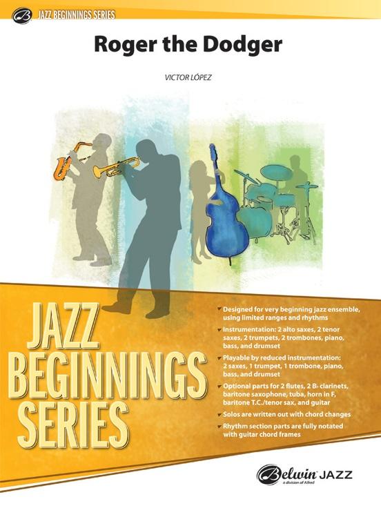 Roger the Dodger (Jazz Ensemble - Score and Parts)