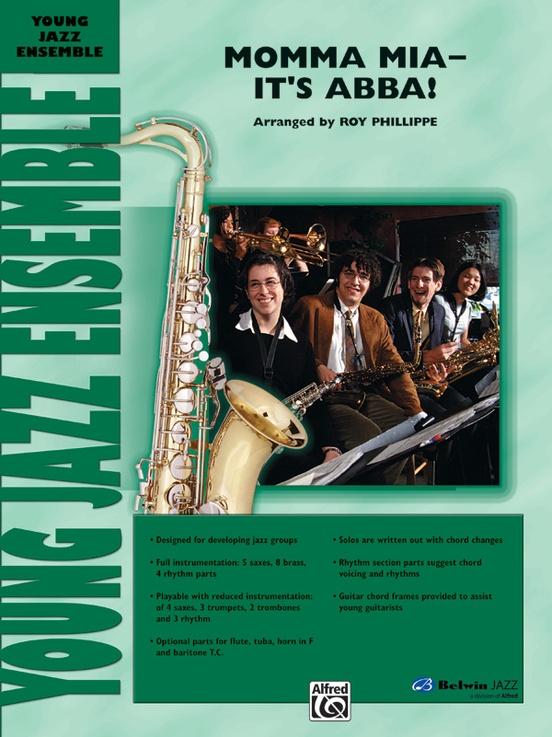Mamma Mia - It's ABBA! (Jazz Ensemble - Score and Parts)
