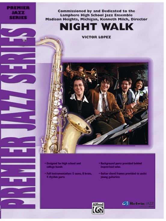 Night Walk (Jazz Ensemble - Score and Parts)
