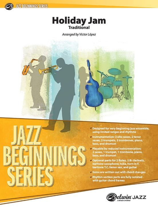 Holiday Jam (Jazz Ensemble - Score and Parts)