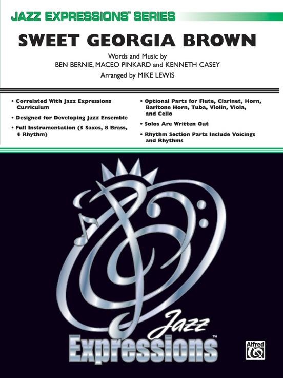 Sweet Georgia Brown (Jazz Ensemble - Score and Parts)