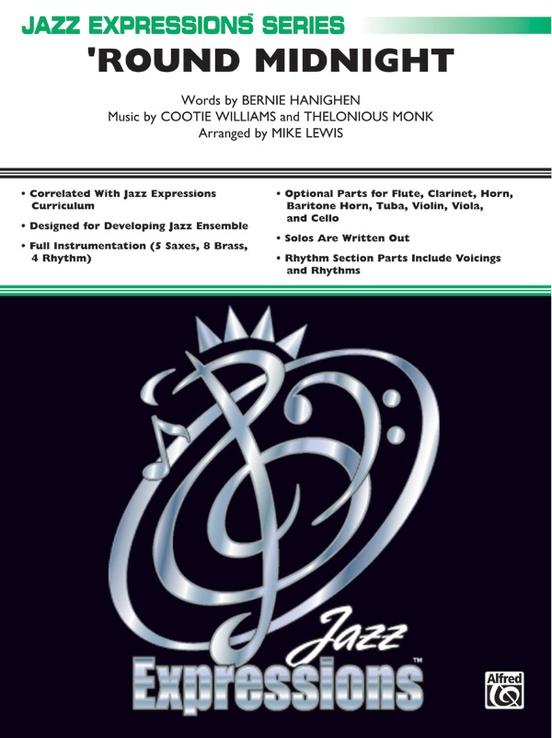 Round Midnight (Jazz Ensemble - Score and Parts)