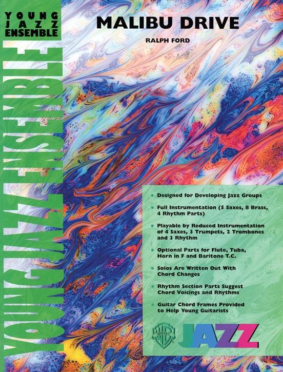 Malibu Drive (Jazz Ensemble - Score and Parts)