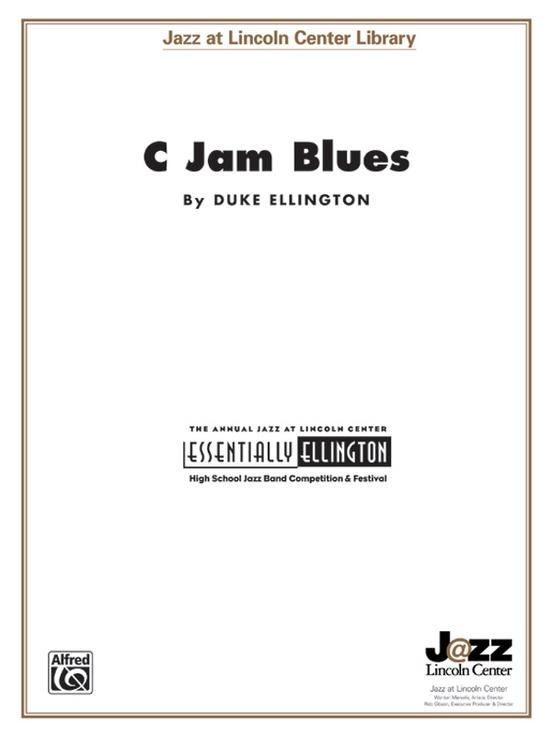 C Jam Blues (Jazz Ensemble - Score and Parts)