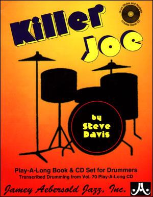 Jazz Drums - Killer Joe Volume 70