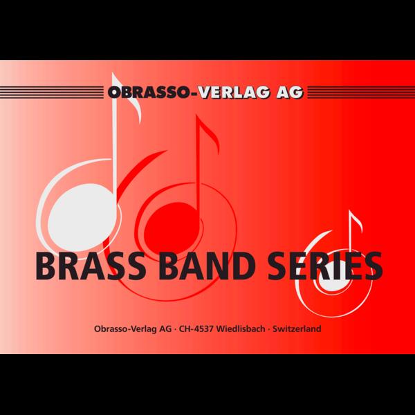 A Night to Marimba (Marimba Solo with Brass Band - Score and Parts)