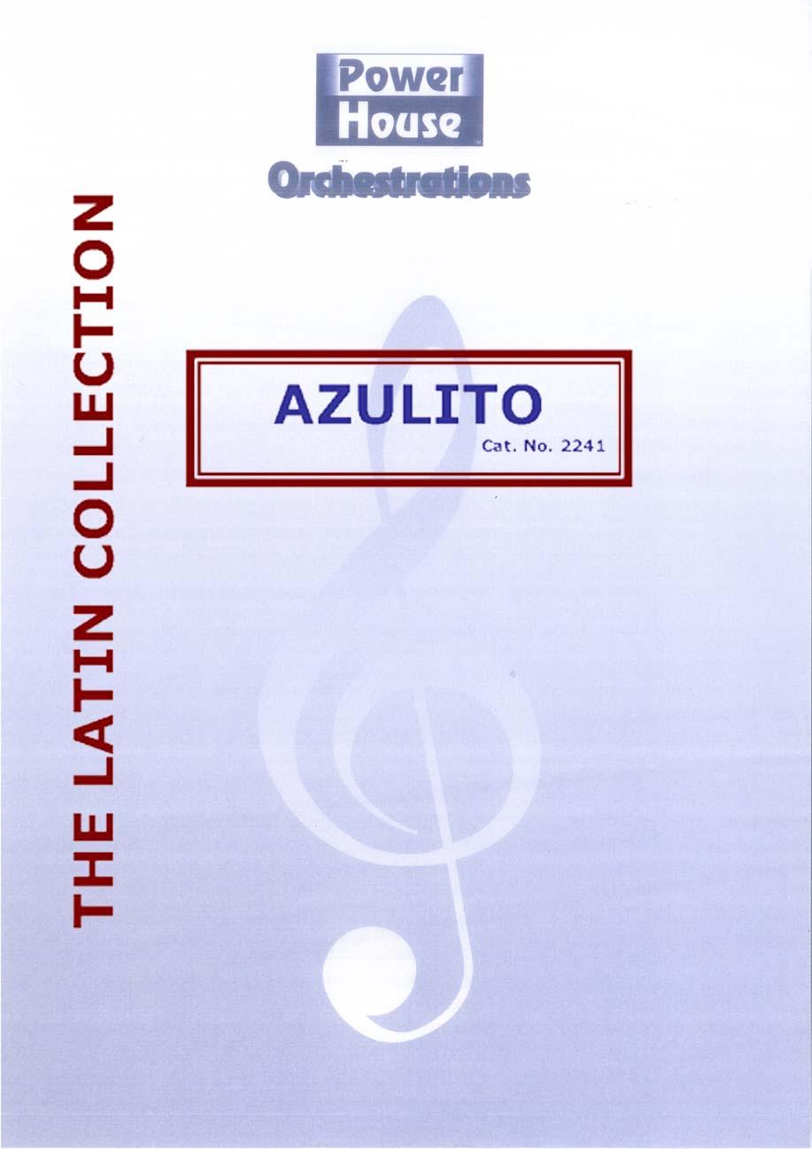 Azulito (Big Band - Score and Parts)