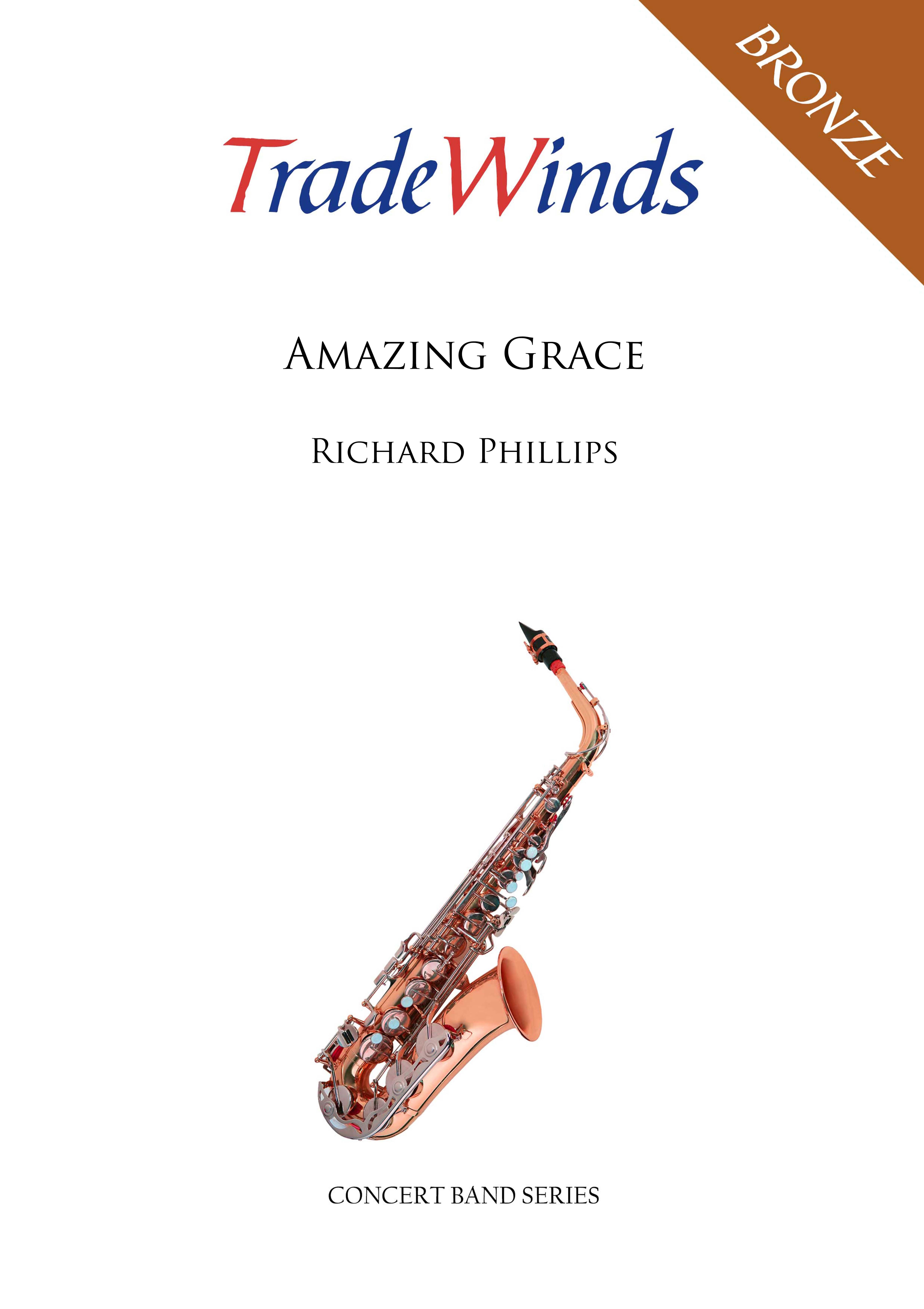 Amazing Grace (Concert Band - Score and Parts)