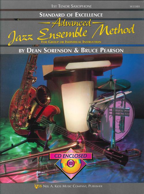 Standard of Excellence Advanced Jazz Ensemble Method (1st Tenor Saxophone)
