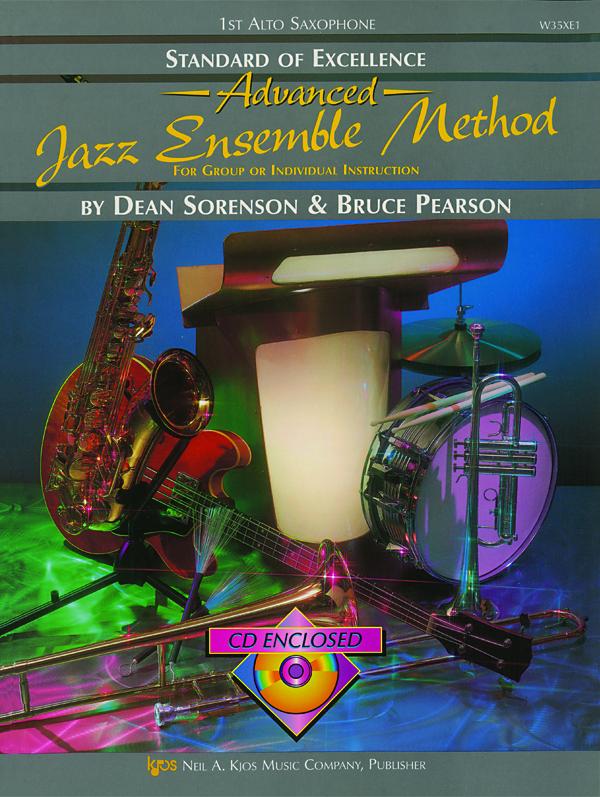 Standard of Excellence Advanced Jazz Ensemble Method (1st Alto Saxophone)