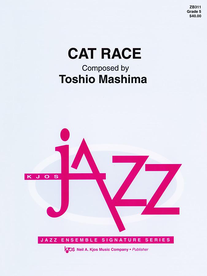 Cat Race (Jazz Ensemble - Score and Parts)