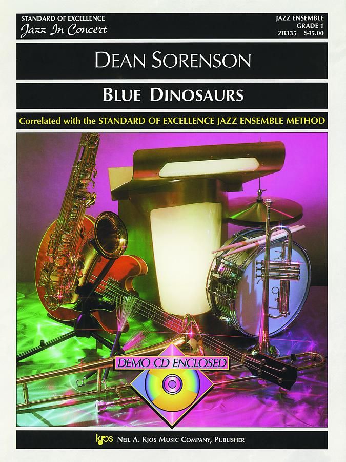 Blue Dinosaurs (Jazz Ensemble - Score and Parts)