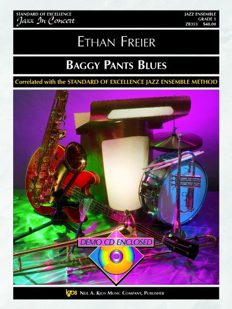 Baggy Pants Blues (Jazz Ensemble - Score and Parts)