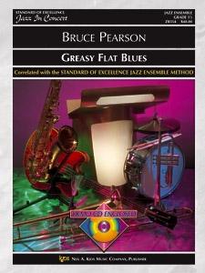 Greasy Flat Blues (Jazz Ensemble - Score and Parts)