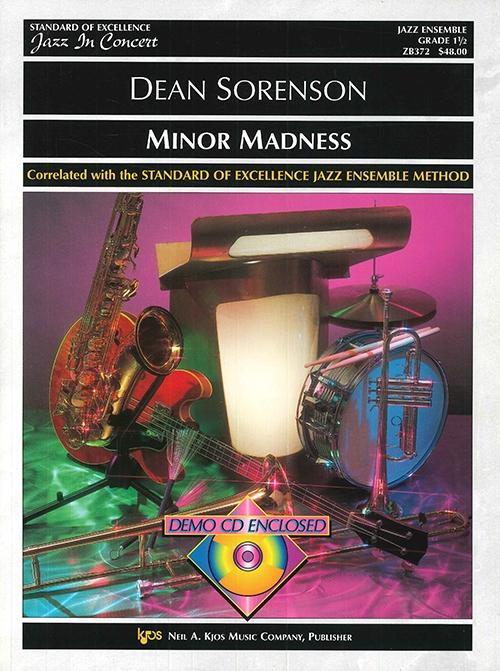 Minor Madness (Jazz Ensemble - Score and Parts)