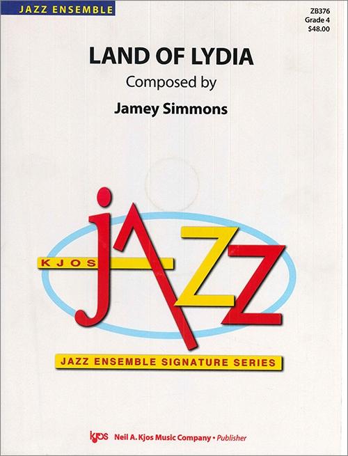 Land of Lydia (Jazz Ensemble - Score and Parts)