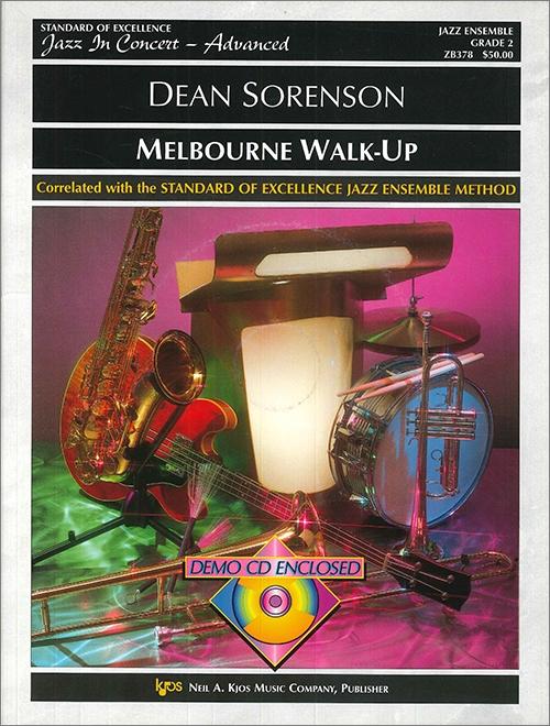 Melbourne Walk-Up (Jazz Ensemble - Score and Parts)
