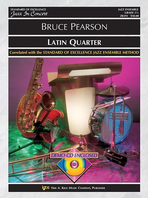 Latin Quarter (Jazz Ensemble - Score and Parts)