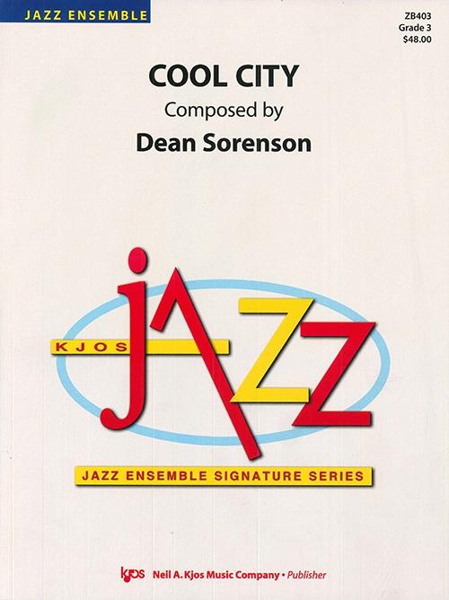 Cool City (Jazz Ensemble - Score and Parts)