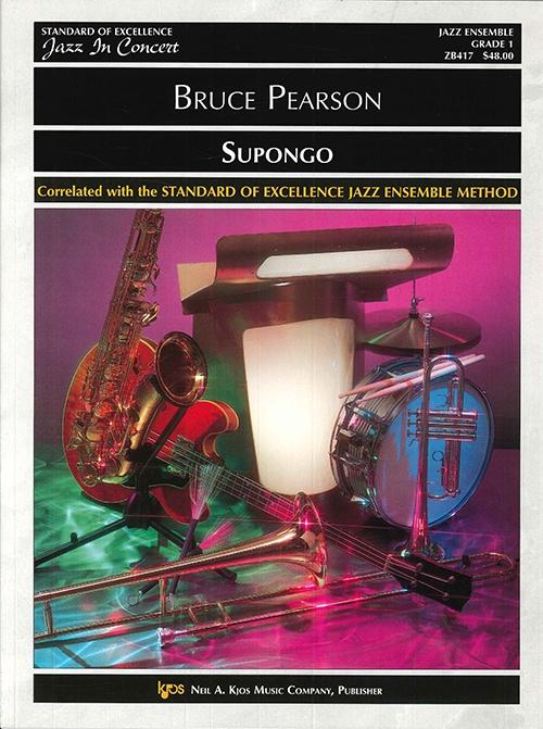Supongo (Jazz Ensemble - Score and Parts)