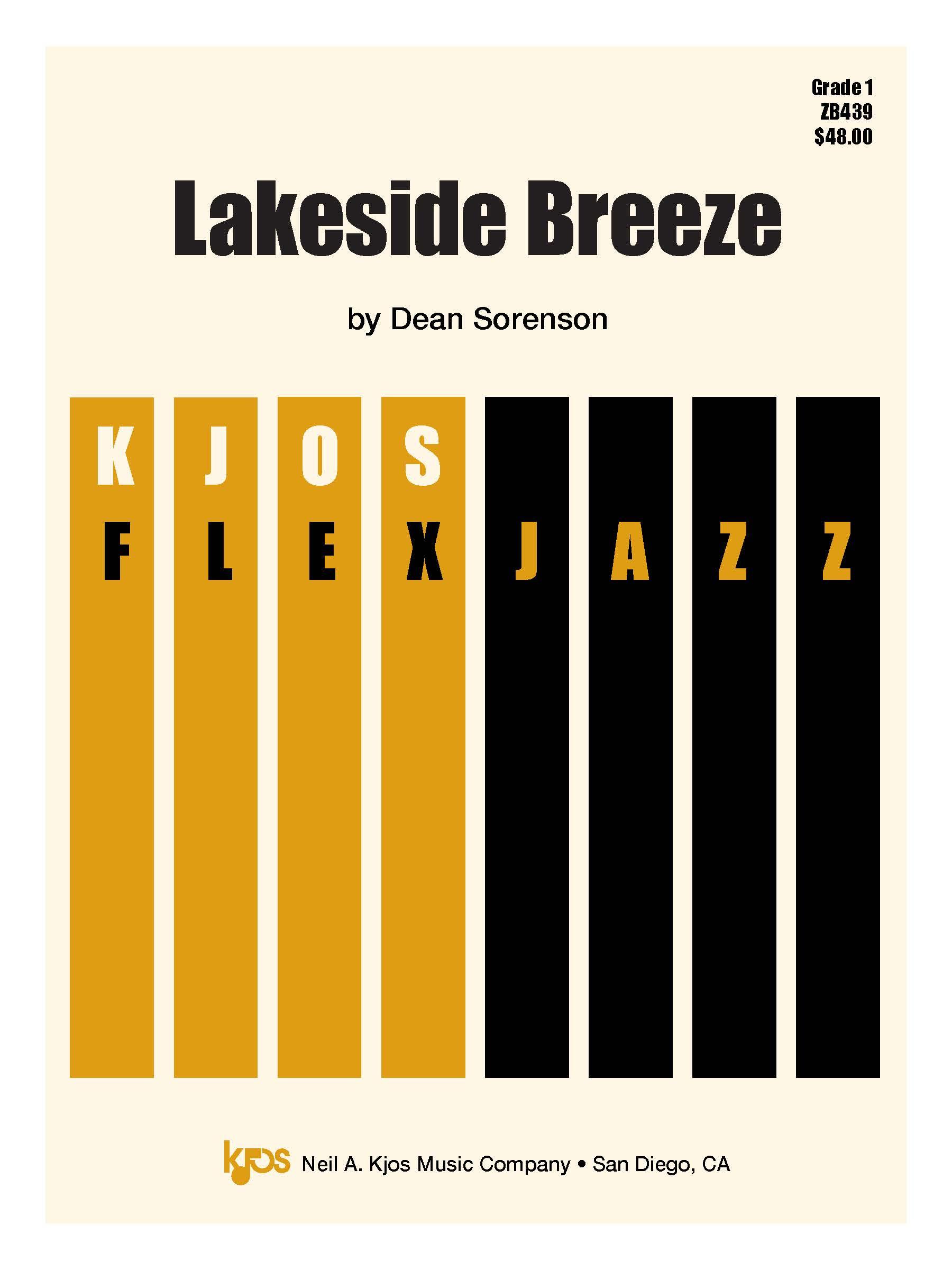 Lakeside Breeze (Jazz Combo - Score and Parts)