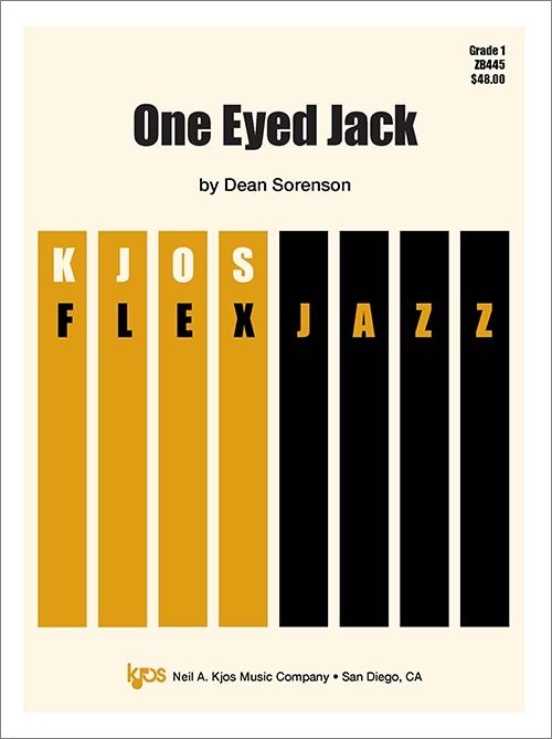 One Eyed Jack (Jazz Combo - Score and Parts)