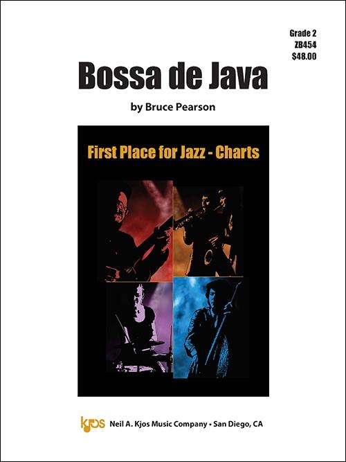Bossa de Java (Jazz Ensemble - Score and Parts)