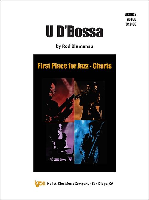 U D'Bossa (Jazz Ensemble - Score and Parts)